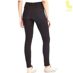 Lolë Skinny Jeans Regular Black Size 28 NWT
